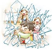 飛散防止による事故やケガの予防