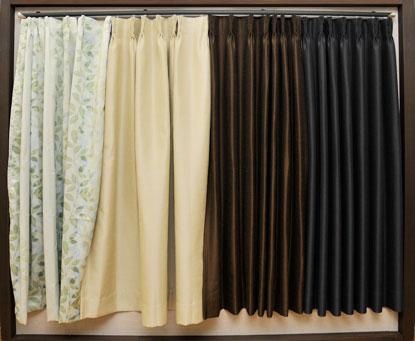 専門店ならではのカーテンの仕上がりの違い